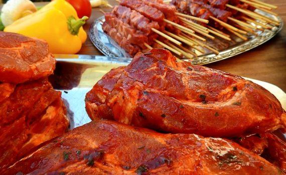 viande marinée