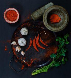 marinade piment