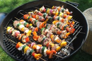 brochette fromage rocamadour